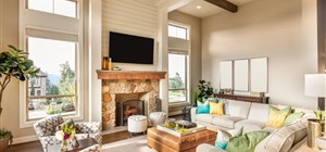 Fitting a Larger Television Over a Fireplace or Mantel