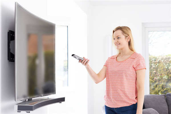 Installing a Curved TV in Your Home Theater