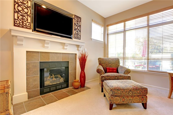 Properly mounting your TV over a fireplace