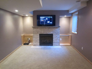 Mounting Tv Above Fireplace Tv Installers Minneapolis Mn