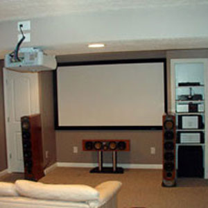 Projector Installation Sevens Home Theater